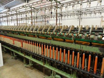 Old spinning machine