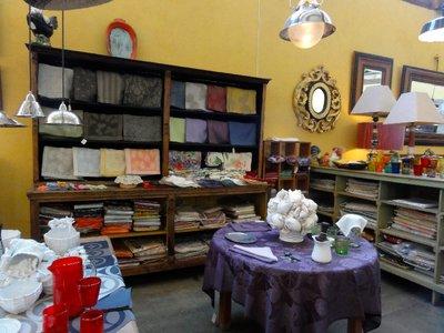 Shop selling beautiful linens