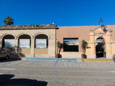Front facade of La Aurora