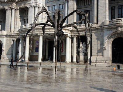 Large Spider Sculpture