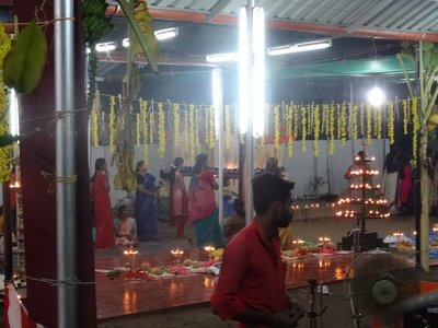 Devotees and offerings