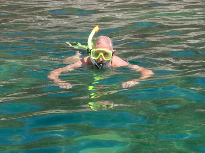 Don Snorkeling