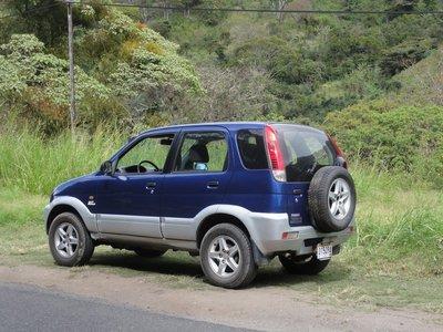 Our little car, a Daihatsu