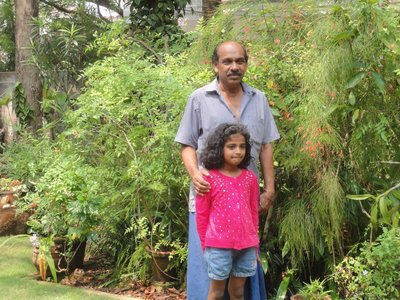 The gardener and his granddaughter