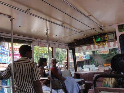 Door man on bus