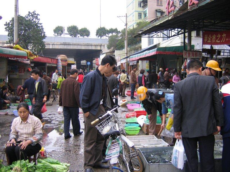 Nanning - Street Market