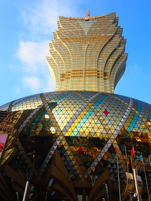 Lisboa Hotel Casino in Macau, China