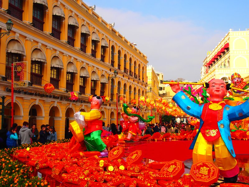 Chinese New Years in Macau