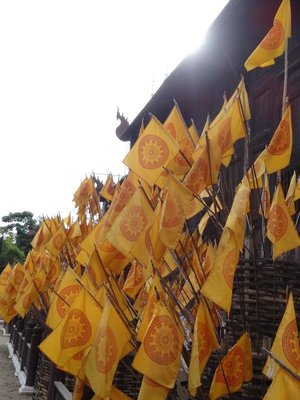 Flags for Buddha Day
