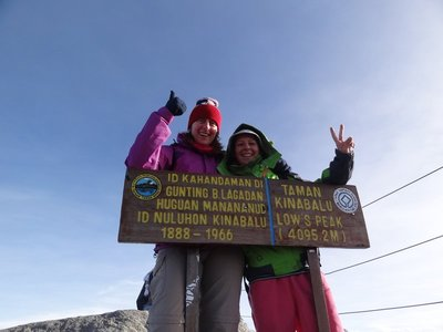 7.15am. We made it! Very emotional and so proud of ourselves.