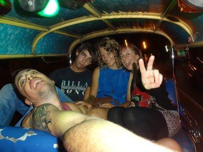 Crazy tuk tuk ride at 3am to a nightclub in Bangkok!
