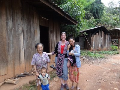The Hmong villagers