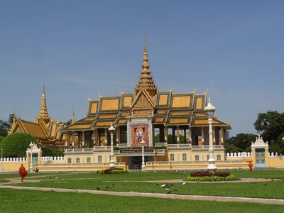 Cambodian Buddhist temple