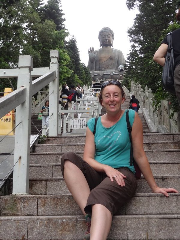 Me and the big Buddha