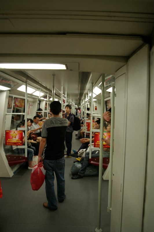 Guangzhou metro...