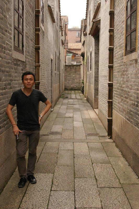 Frankie in Liang Garden
