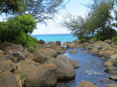hanakape'ei beach