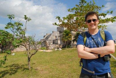 The Mayan Temple in Tulum