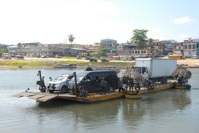 Interesting ferry we took