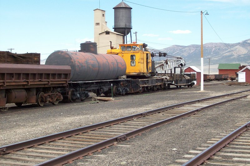 Northern Nevada Railway Museum Yard