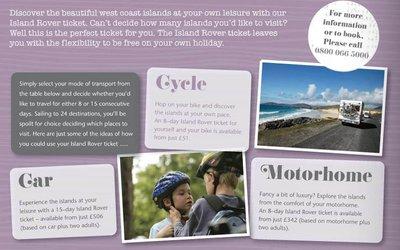 CalMac brochure 2012