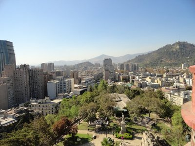 View of Santiago
