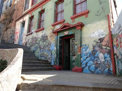 Mural in Valparaiso