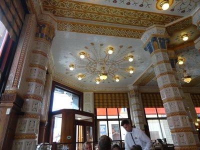 Imperial Cafe - art nouveau interior