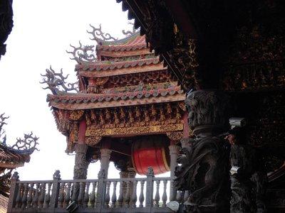 daoist temple rood detail
