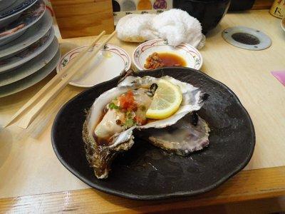giant oyster, tsukiji
