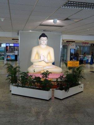 Buddha @ CMB Airport