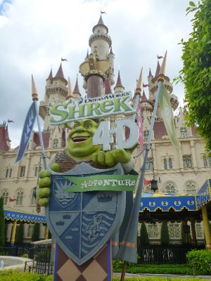 Shrek4D at Universal Studios
