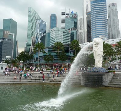Singa Fountain
