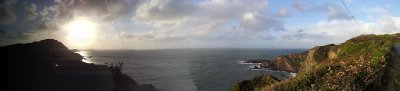 Panoramic view near Illfracombe