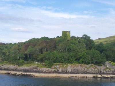 Castle ruins just outside Oban