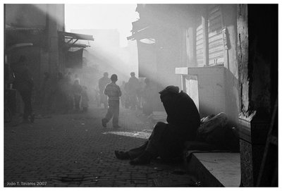 Mist in Marrakesh