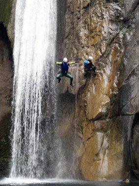 Matacanes 1 waterfall