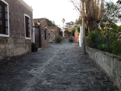 streets of Colonia del Sacramento