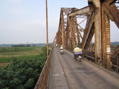 this bridge was bombed all through the war