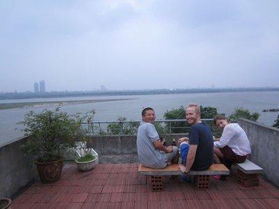 rooftop beers with dan