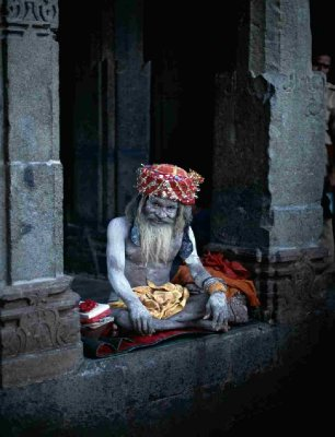 Holy man in Rajasthan