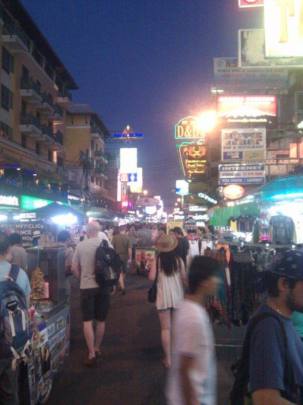 khao san street