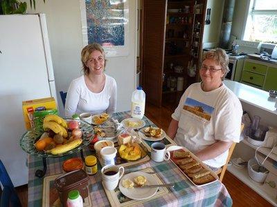 Breakfast with Annette