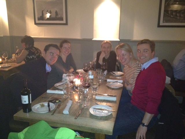 Dinner in London