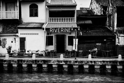 Riverine Cafe Malacca