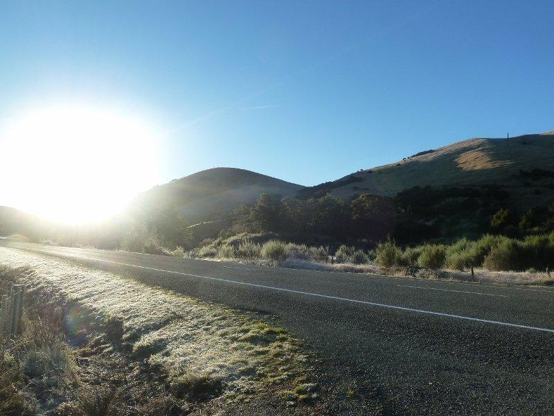 Eiskalter Morgen, Frost überall