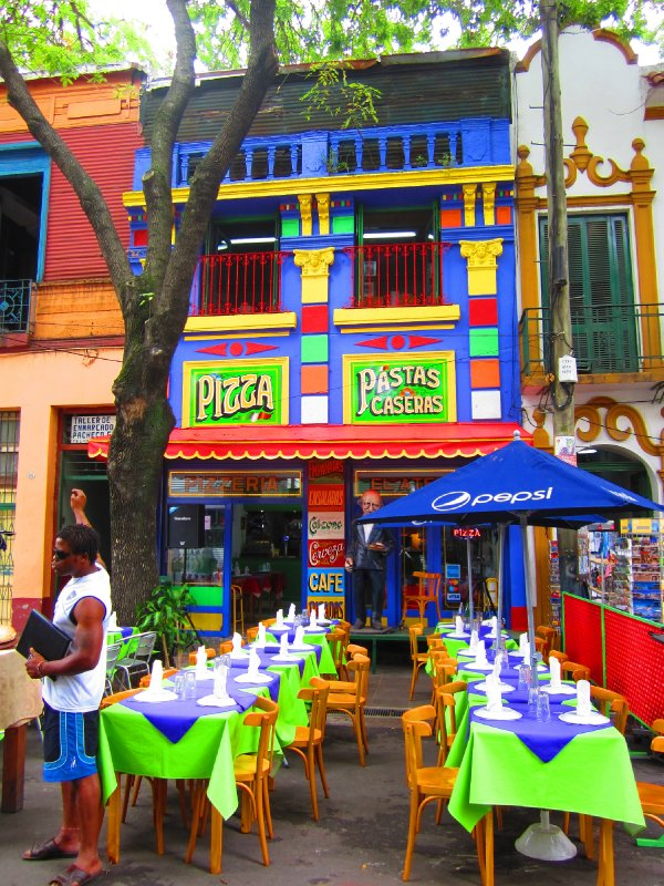 cafe, Caminito, La Boca