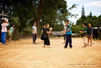 HMONG CHILDREN - NORTH OF THAILAND (2011)