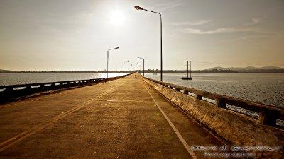 Koh Kong view of the bridge