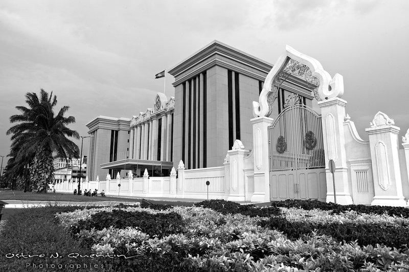 Prime minister Hun Sen office in Phnom Penh